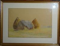 les meules de foin by maurice dainville