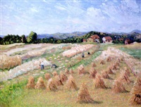 the harvest, southern norway by herbert h. newton