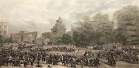 hyde park (after h. barraud) by william henry simmons
