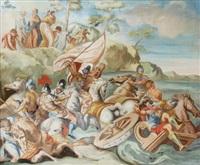 la fuite des hébreux en égypte vers la terre promise by anonymous (18)