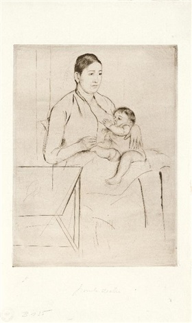 nursing by mary cassatt