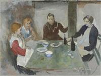 le repas by edgar chahine