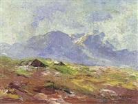 landschaft (motiv aus der eng) by otmar antonio janecek