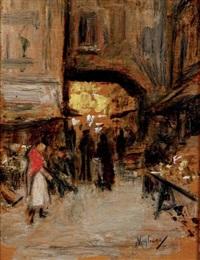 rue animée by vincenzo migliaro