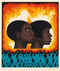 a second generation (from for my people) by elizabeth catlett