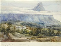 table mountain and wynberg church (+ 15 others; 16 works) by la laamighand