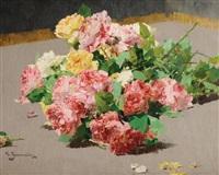 bouquet de roses by georges jeannin
