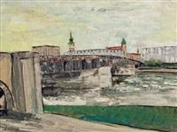 linz nibelungenbrücke by ernst reischenböck
