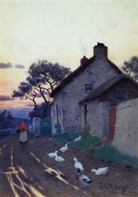 a winter's evening, after rain by john mcdougal
