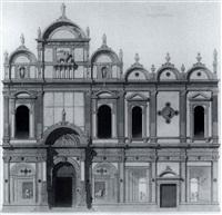 venise-facade de l'hopital by gabriel auguste ancelet