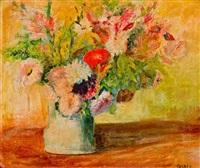 nature morte aux fleurs by maria glatz