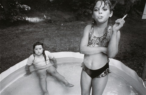 amanda and her cousin amy valdese north carolina by mary ellen mark