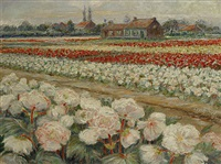 bloemenvelden by hippolyte leroy