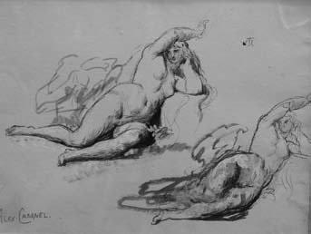 deux nus by alexandre cabanel