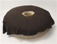 chocolate donut (collab. w/paul mccarthy) by jason rhoades