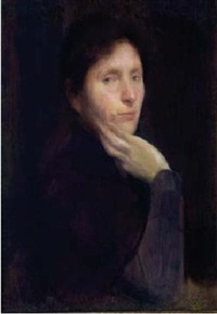 portrait de femme by georges picard