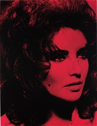 elizabeth taylor by russell young