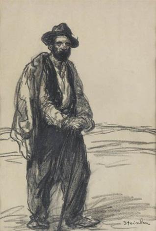 le travailleur by théophile alexandre steinlen