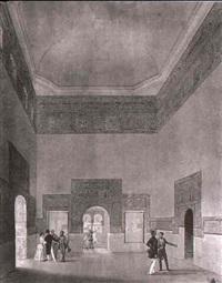 besuch in der agyptischen abteilung der alhambra by joaquin becquer