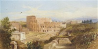 the colosseum, rome by henry parsons riviere