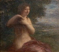 nymphe by théodore fantin-latour