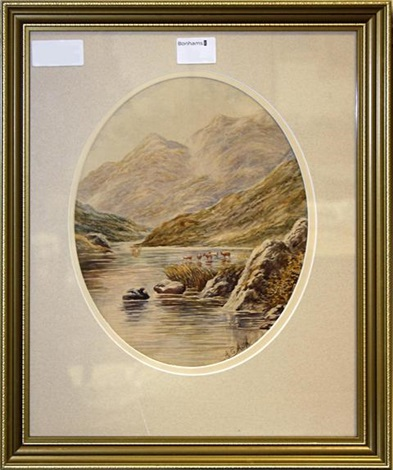 scottish views pair by albert edward ash