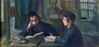 lehrer und schüler by artur markowicz
