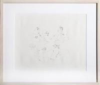 six nudes by leonor fini