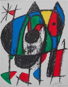 artwork by joan miró