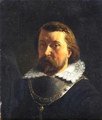studies of a cavalier by johannes christoffel vaarberg