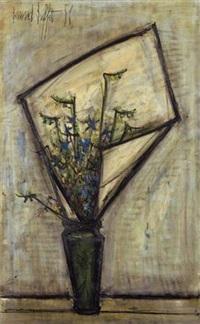 fleurs dans un vase by bernard buffet