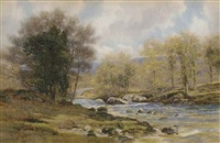 river landscape by george drummond fish