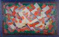 composition orange et blanche by albert voisin