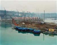 dam #1, yangtze river, china by edward burtynsky