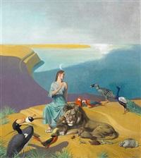 animal allegory by julius moessel
