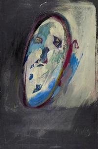 portrait o.k. (oskar kokoschka) by hugo weber
