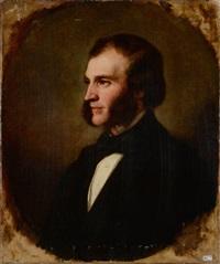 portrait d'homme by josé gutiérrez de la vega