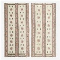 röd s- bard tapestries (pair) by marta maas-fjetterstrom