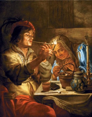 les fumeurs de pipe by jan andreas lievens the younger