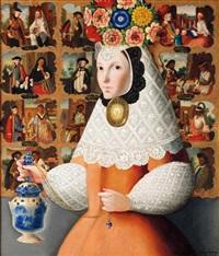 monja de las castas by benjamín domínguez