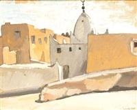 village de khioumérie (algérie) by camille leroy
