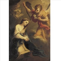 the annunciation by stefano maria legnani