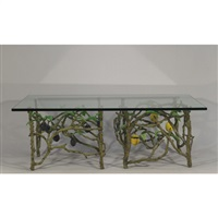 a table depicting lemons and plums by victor cicansky