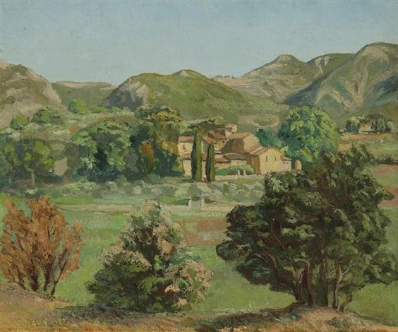 le village by pierre paul girieud