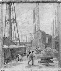 industrial scene by valentine vogel