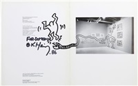 drawing on exhibition catalogue by keith haring