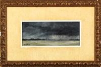 angry sky by henri gadbois