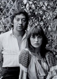 serge gainsbourg & jane birkin by leonard de raemy