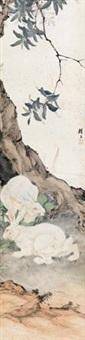 双兔 by liu kuiling