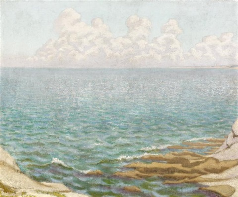 bord de mer by charles lacoste